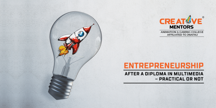 Entrepreneurship after a diploma in multimedia – practical or not